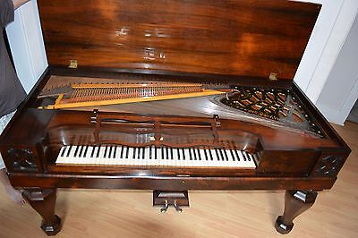 1860's Rosewood Square Grand Piano - Reconditioned!