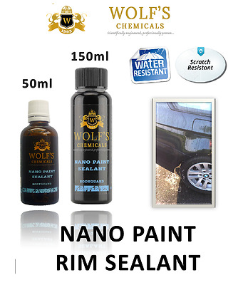 Wolfs Chemicals Car Hydrophobic Nano Ceramic Rim Paint & Wheels Coating Sealant