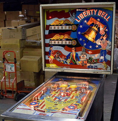 Liberty Bell Pinball_Williams 1977_Mechanical_Collector_Works Great_Nice Game
