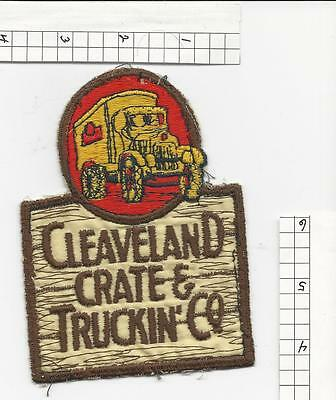 Cleveland Crate & Truckin' Co advertising  patch