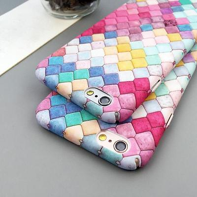 Fashion Mermaid Scales Pattern Matte Hard Back Case Cover For iPhone 6 6s 7 Plus