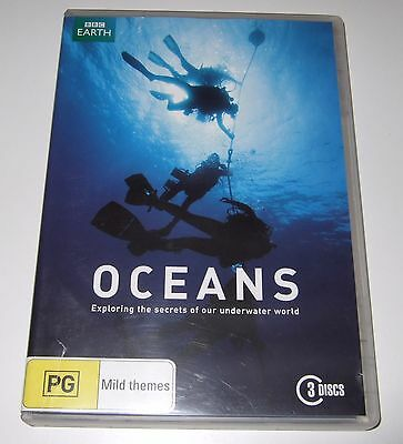 Oceans (DVD, 2010, 3-Disc Set) BBC Earth