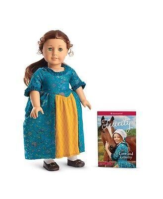 American Girl Doll Felicity Beforever Doll And Book New In Box Nib