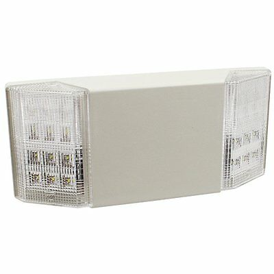 TORCHSTAR UL-Listed LED Emergency Light with Battery Backup, White, Available in