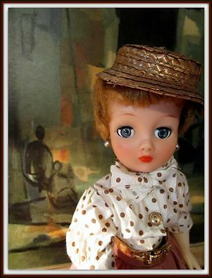 "High Color 19"" Cindy Horsman Szor Family Trio Mom Fashion Vinyl Vtg Doll 1957"