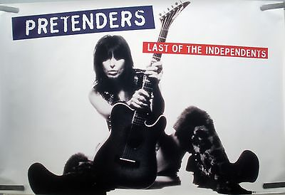 Pretenders Last Of The Independents 1994 Orig Vintage Music Store Promo Poster