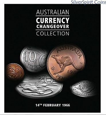 1953-1984 AUSTRALIA CURRENCY CHANGEOVER Coin Set in Booklet