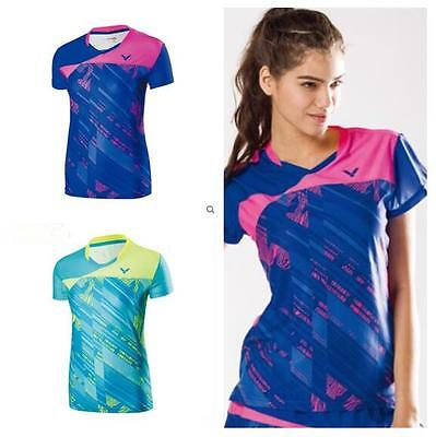 2017 Outdoor sports women's Tops tennis/badminton Clothes Only T shirts