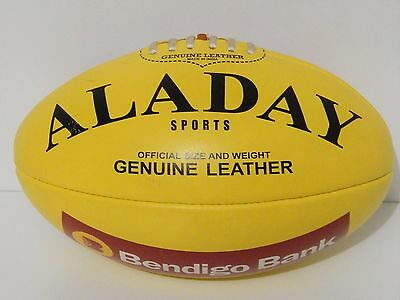 Genuine Leather Australian Rules  Match Size Footballs