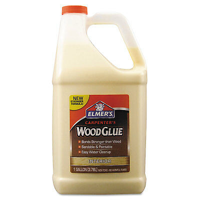 Elmers Carpenter Wood Glue Beige Gallon Bottle E7050