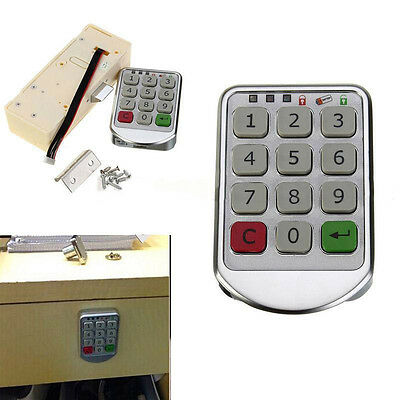 Digital Drawer Intelligent Password Keypad Number Cabinet Door Code Locks Tool