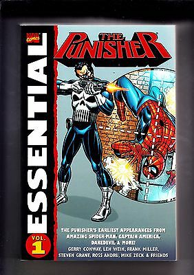 The Punisher Essential volumes 1 + 2  Graphic Novels