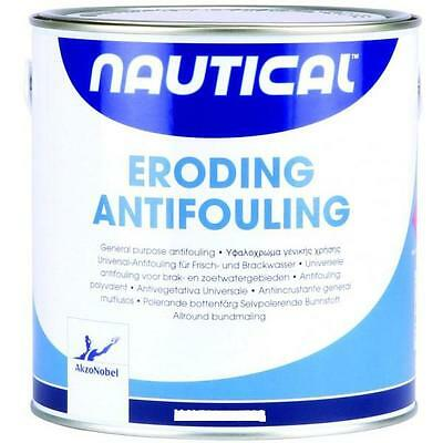 ANTIVEGETATIVA AUTOLEVIGANTE AKZO NOBEL NAUTICAL NERO 2 x LT 0,750