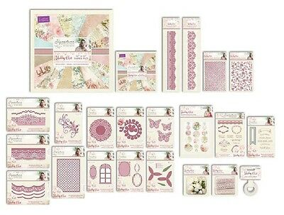 Crafters Companion Sara Signature Collection SHABBY CHIC CardMaking Range NEW