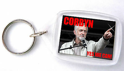 Jeremy Corbyn - Labour Party  -  keyring / keychain - new