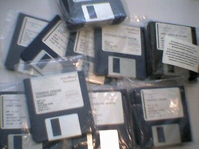 Bulk pile of Vintage Fundware Accounting Software 1994 1997