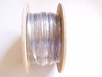 "304 Stainless Steel Wire Rope Cable, 3/8"", 7x19, 150 ft Reel"