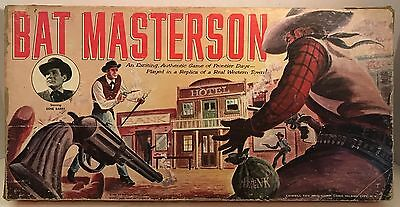 Vintage 1958 Bat Masterson Game by Lowell Toy Mfg