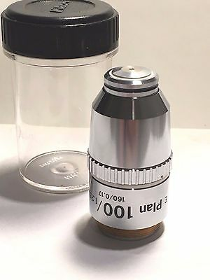 Nikon Cf-E-Plan 100X /1.25 Oil , 160/0.17 Microscope Objective