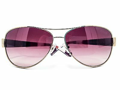 New COACH Womens Sunglasses HC7003 901413 Gold Olive Authentic 59