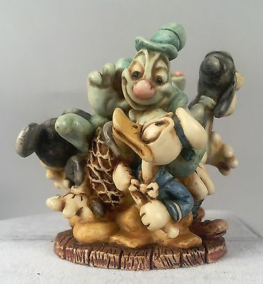 Harmony Kingdom Figurine - Ghost Chasers - Disney Mickey Mouse LE 500 2003