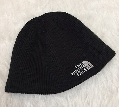 The North Face Knit Beanie Hat Black One Size Unisex