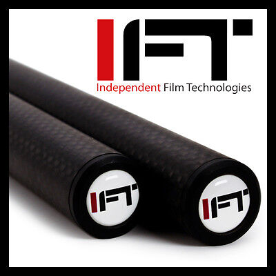 "19mm x 24"" (inches) Long Carbon Fiber  Rods (Pair)"