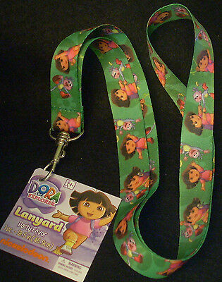 """Lot of 5 Nickelodeon Party Favor Lanyard 19"""" Length Dora the Explorer & Boots"""