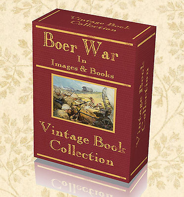 1245 Images 45 Rare Books on DVD Boer War Transvaal Photos Maps South Africa 243
