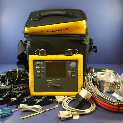 Fluke 1735 Power Logging Analyst Kit, Excellent Condition, Extras