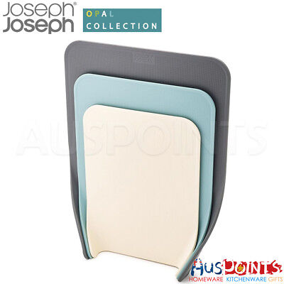 Joseph Joseph Nest Chop Set of 3 Chopping Board Opal Brand New