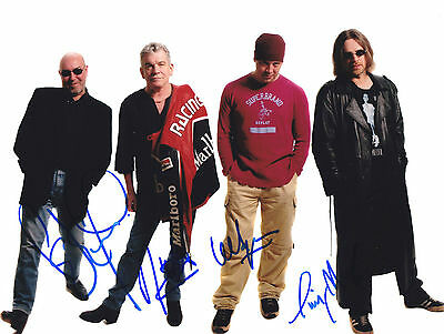 Nazareth Rare Amazing All In Person Signed W/proof/beweis Coa