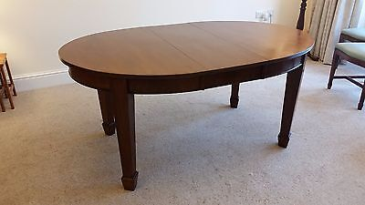 Superb antique victorian mahogany wind out dining table 125 - 160cm