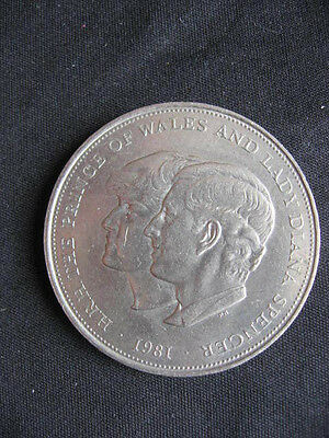 Commemorative Crown Wedding of Prince Charles & Lady Diana Spencer,1981Free Post