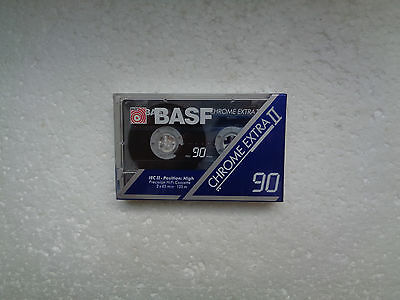 Vintage Audio Cassette BASF Chrome Extra 90 * Rare From Germany 1991 *