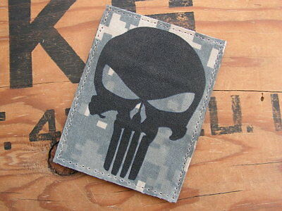 - Airsoft US ARMY special forces SEAL PUNISHER fond NOIR SNAKE PATCH