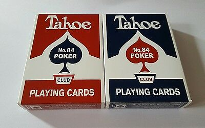 Arrco Tahoe Playing Card 2 New Decks Red & Blue by Dan and Dave Limited Edition