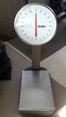 Chatillon BP13-200S Mechanical Bench Scale works great