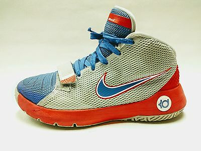 huge discount 79769 f11c1 Nike KD Trey 5 III Kevin Durant Boy's Youth Basketball Shoes size 6.5Y Red  Blue