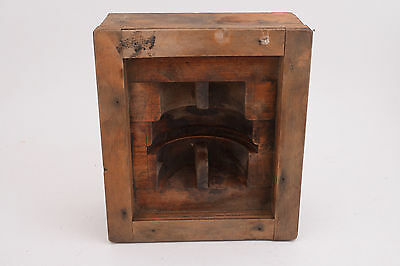 Square Box Wooden Industrial Primitive Foundry Mold Pattern Steampunk (IL1-M2)