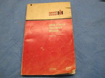 Case IH 2096 Tractor O&M Manual