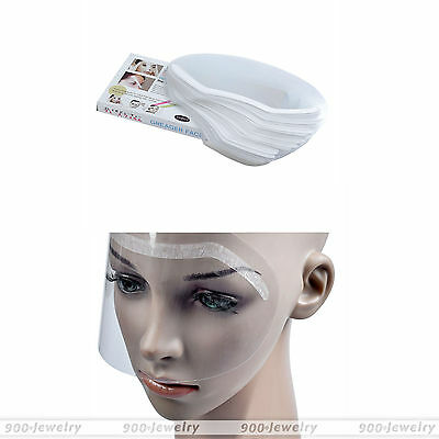 50pcs Fashion Hair Salon Hairdressing Face Shields Protect Your Eyes Faces