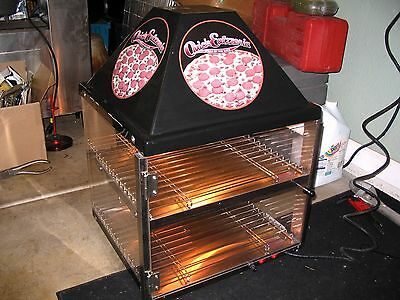 Wisco Industries 2 Shelf Pizza Display Warmer, 680-1 COUNTER TOP