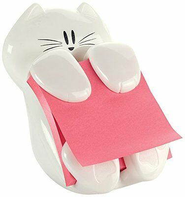 "Post it Cat Dispenser Self Stick Note Pad Holders Figure Pop-up Note 3x3"" New"