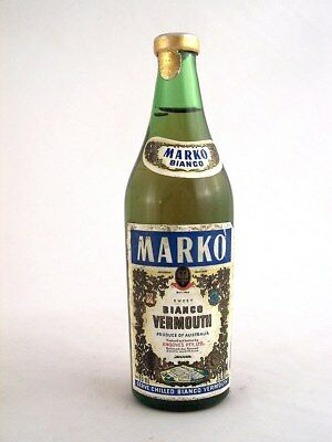 Miniature circa 1974 MARKO BIANCO VERMOUTH 85ml Isle of Wine