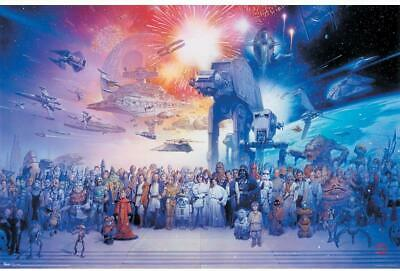 Trends International dream Poster Prints Home Decor, Star Wars Galaxy 24x36in