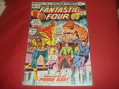 FANTASTIC FOUR #168  Marvel Comics 1976  FN/VF