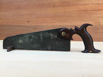PREMIUM Quality SHARP! Antique GROVES & Son Early GENTS SAW Rosewood Handle #57