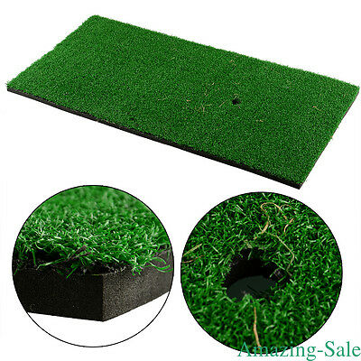 Practice Aids Tool Golf Training Mat Home Backyard Golf Mat Green 60x30cm