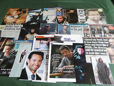 Hugh Jackman -Film Star - Clippings /cutting Pack